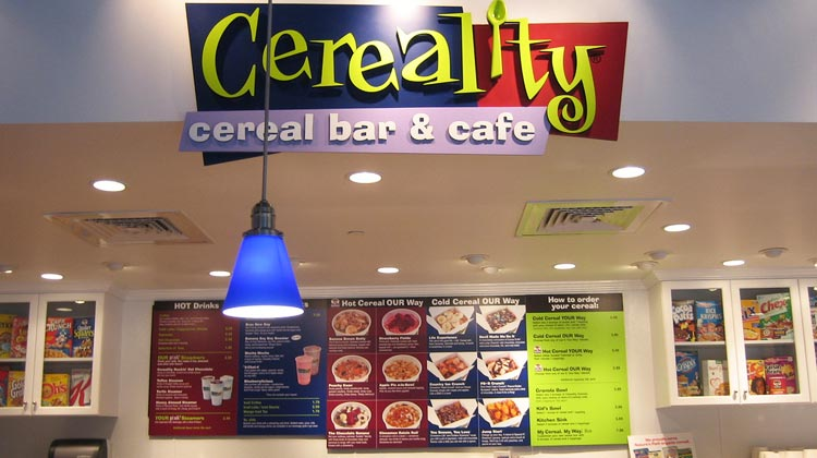 Franquia criativa da fast food Cereality