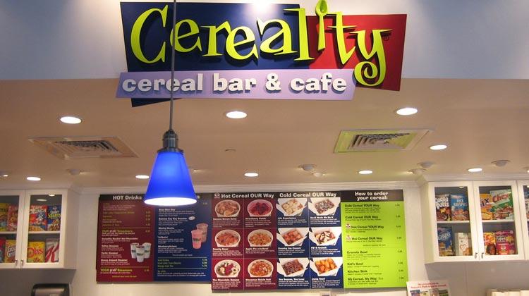 Franquia criativa da fast food Cereality