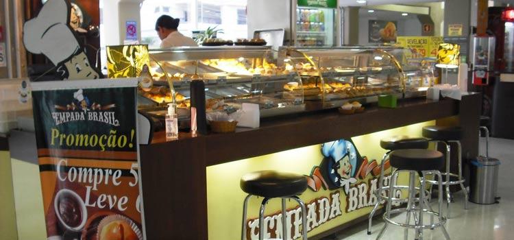 Franquias de quiosques de alimentação Empada Brasil