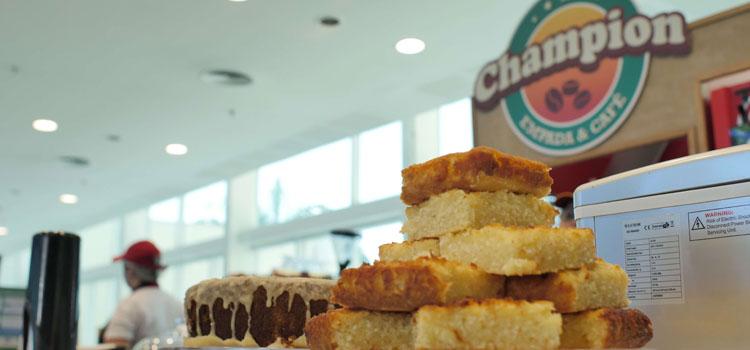Franquias de quiosques de alimentação Champion Empada Café