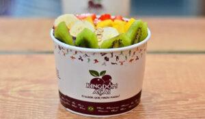 Toppings de frutas